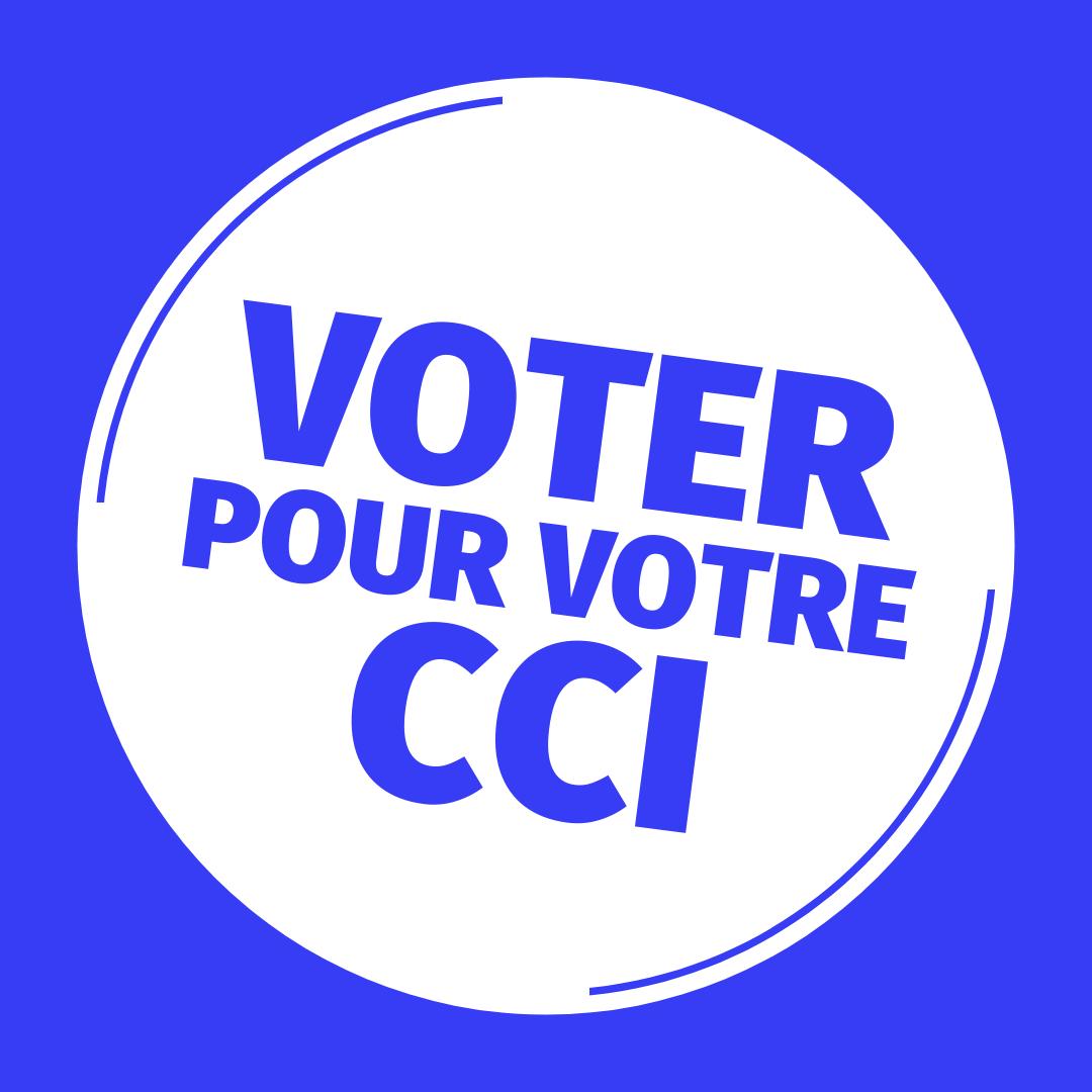 Voter pour votre CCI